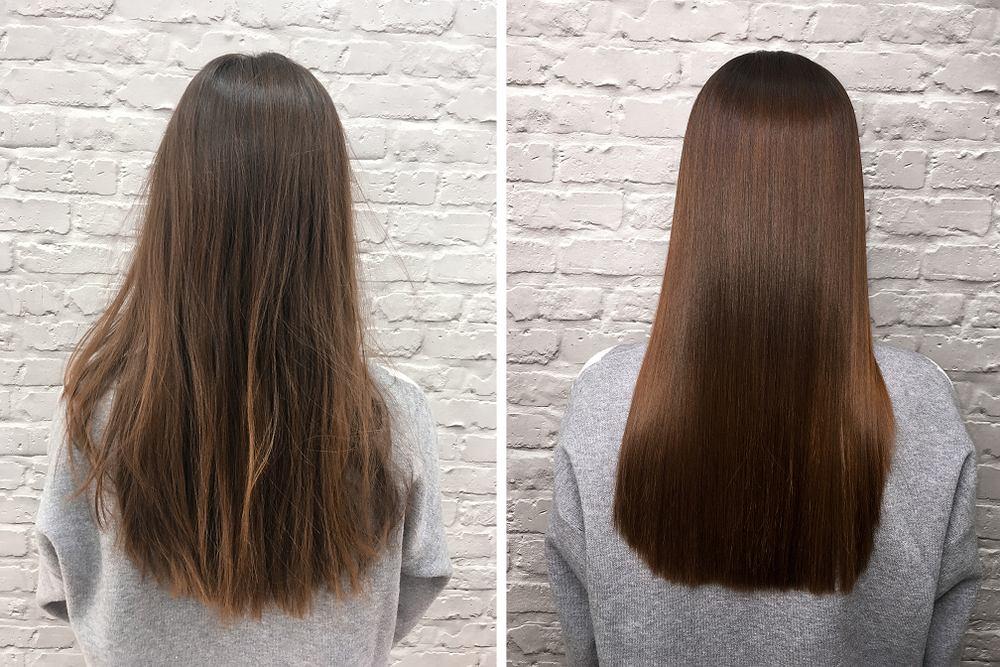 Tylko na zewnątrz Keratynowe prostowanie włosów - na czym polega, dla kogo, ile UK07