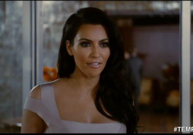 Kim Kardashian, która dostała Złotą Malinę w kategorii Najgorsza aktorka drugoplanowa za film