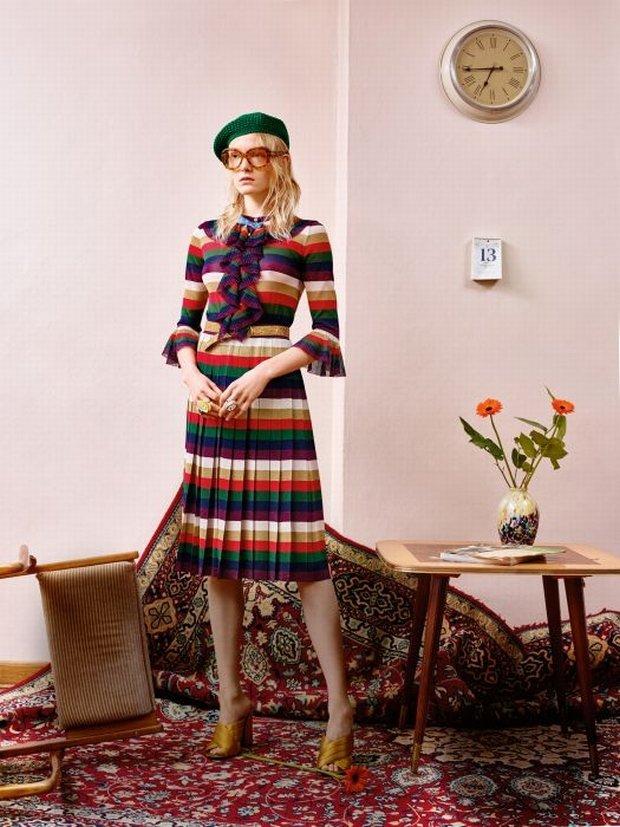 Maja Salamon w sesji z ubraniami Gucci dla