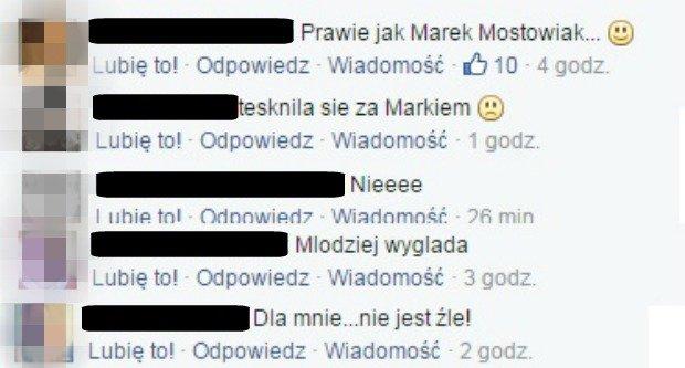 Komentarze z Facebooka Plotek.pl