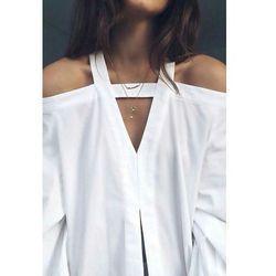 Wspaniały Biała bluzka koszulowa: idealna baza do codziennych stylizacji PY38