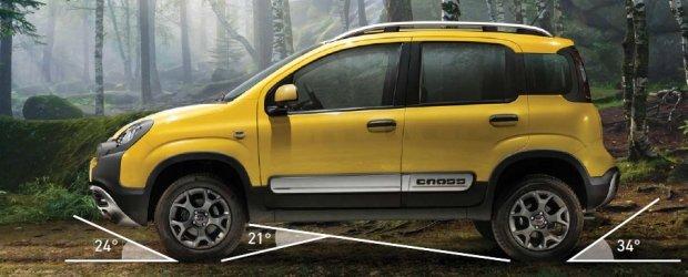 Fiat Panda Cross 4x4 - własności terenowe