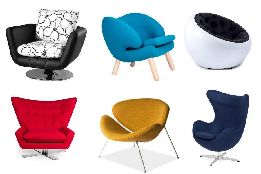 Najpiękniejsze fotele - fotele nowoczesne