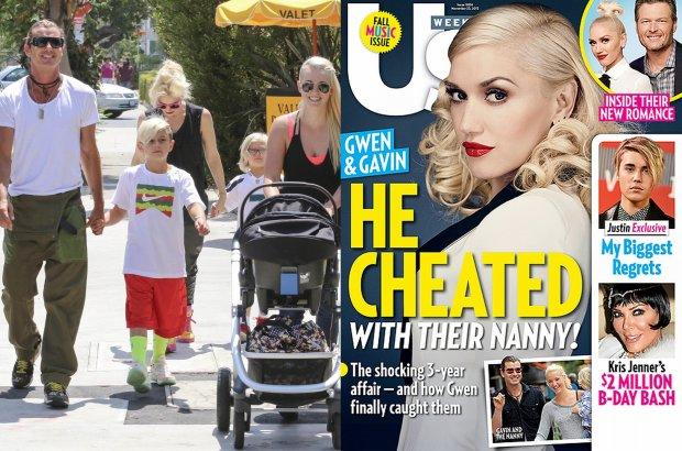 Gwen Stefani, Gavin Rossdale, Mindy Mann