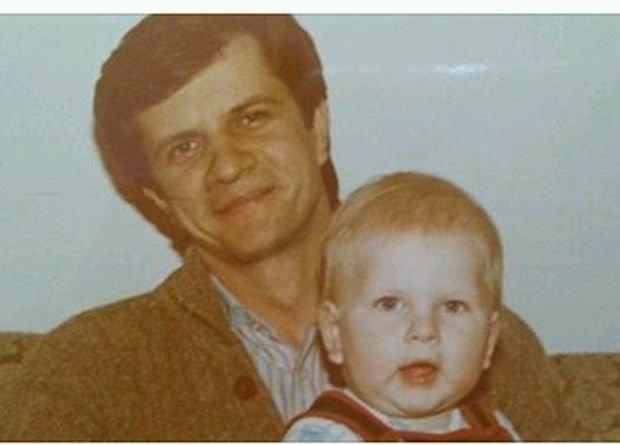 Filip Chajzer, Zygmunt Chajzer, gwiazdy w dzieciństwie, gwiazdy z rodzicami