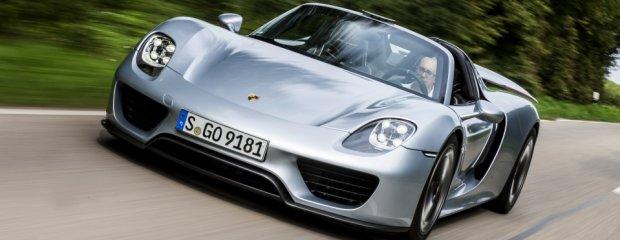 Porsche 918 Spyder | Pierwsza jazda | Arytmia i  motyle