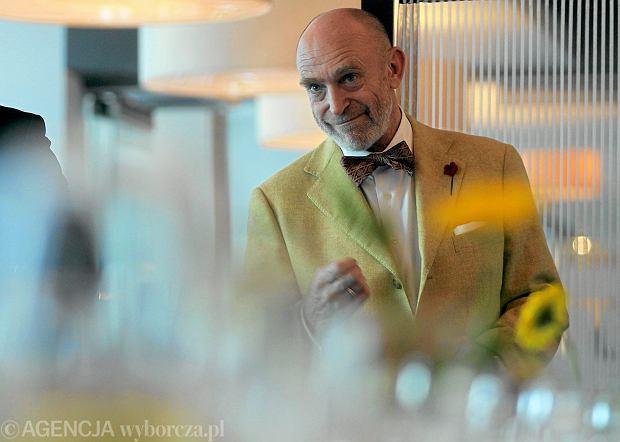 17.05.2013 Chorzow , Hotel Best Western . Restaurator Adam Gessler prezentuje wiosenne menu .  Fot. Dawid Chalimoniuk / Agencja Gazeta