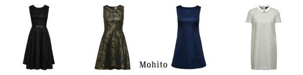 sukienki o kroju retro z Mohito