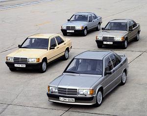 Mercedes 190 kończy 30 lat