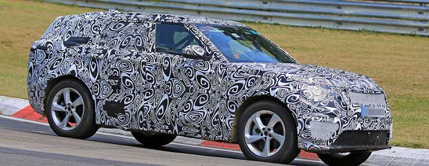 Prototyp Range Rover Sport Coupe