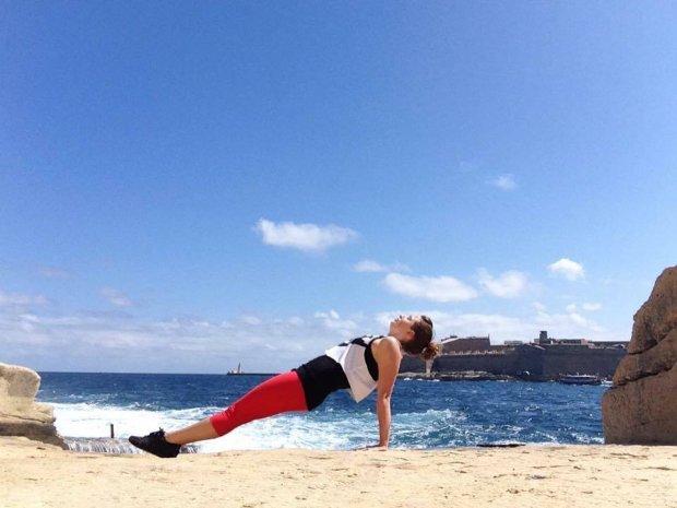 To też jest plank (fot. Sandra Mikulska arch. prywatne)