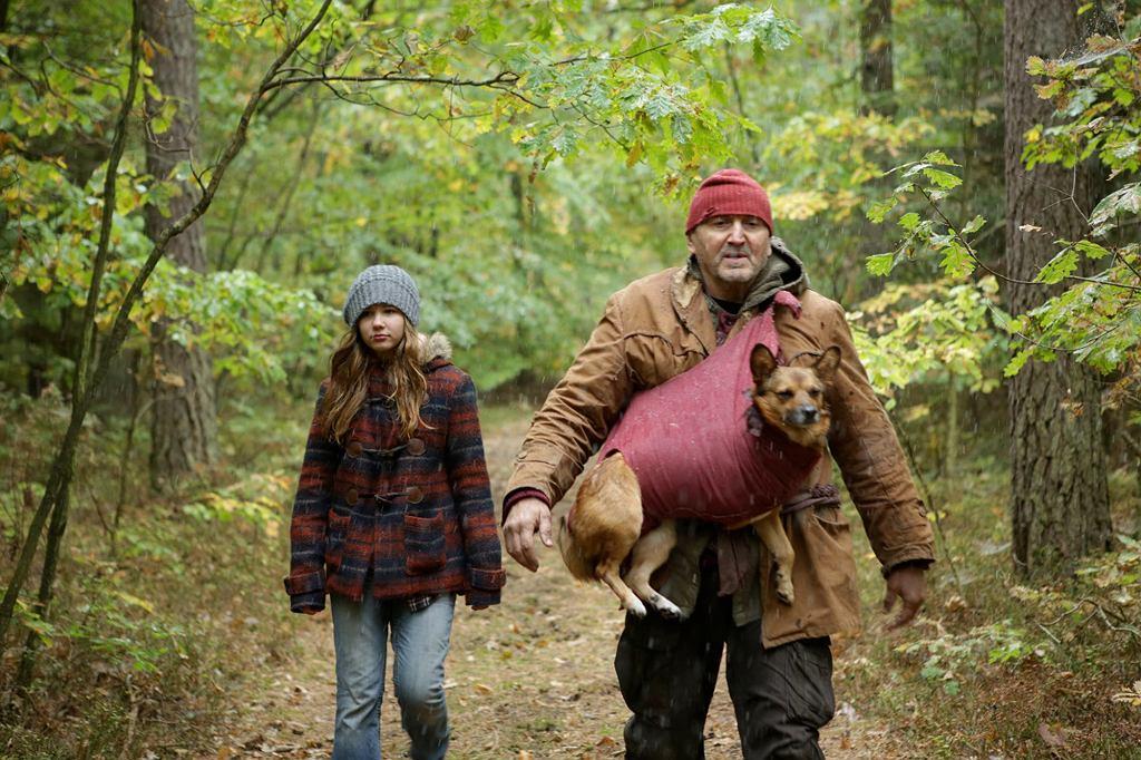 Maria Blandzi i Krzysztof Majchrzak na planie filmu ''Las, 4 rano'' (fot. materiały prasowe)