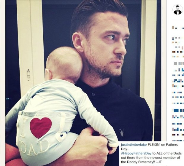 Justin Timberlake z synem, Silasem