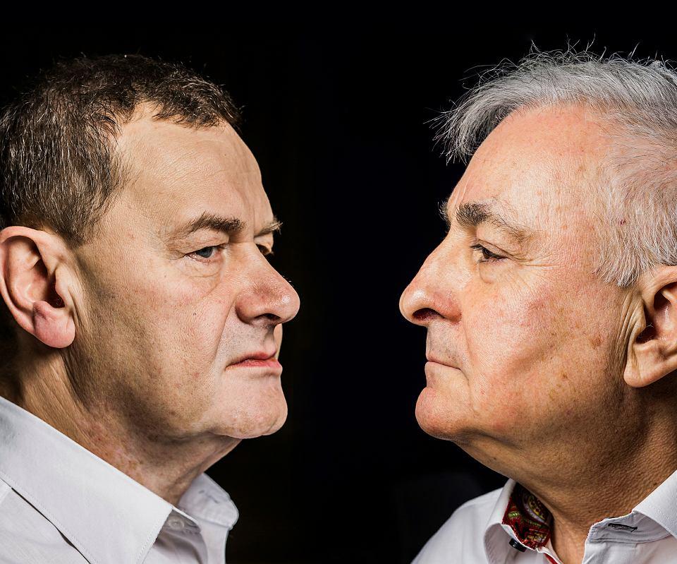 Paweł Sanakiewicz i Janusz Marchwiński
