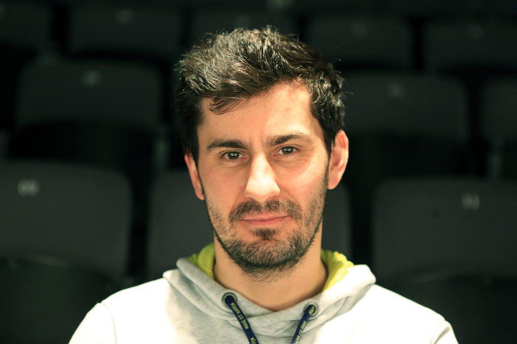 Paweł Sztarbowski, wicedyrektor Teatru Powszechnego (fot. Jacek Marczewski / Agencja Gazeta)