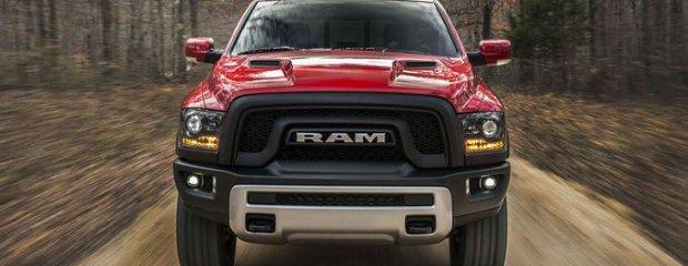 Salon Detroit 2015 |  Ram Rebel 1500 | Chcę być groźny