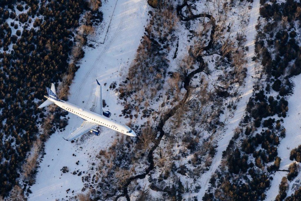 Zdjęcie samolotu z... samolotu (fot. Filip Wolak)