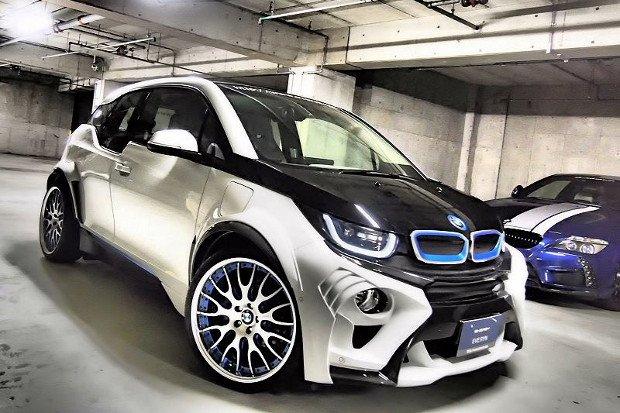 BMW i3 EVO | Pierwszy tuning