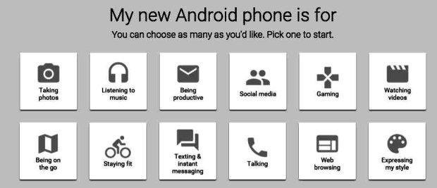 Wybierz smartfon