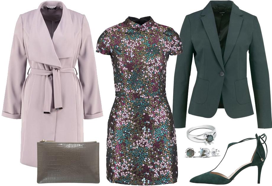 Płaszcz jak szlafrok - stylizacja na wesele