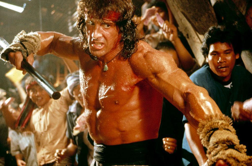 Stallone w trzecim z serii filmów o Rambo (fot. Everett Collection / Eeastnews)