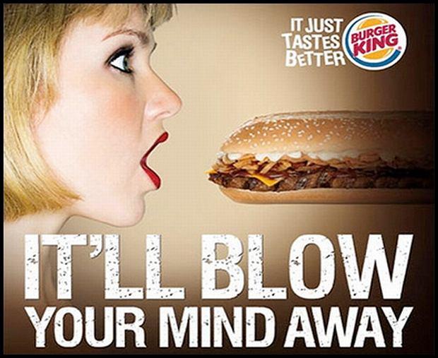 To naprawdę gorrrrrący burgerek...