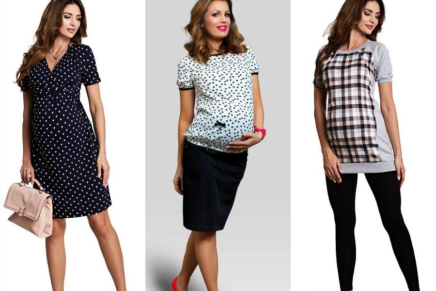 Ubrania dla kobiet w ostatnim miesiącu ciąży