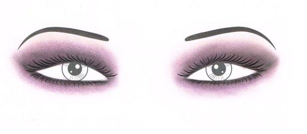 smoky eyes dla dużych oczu