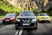Crossovery Nissana