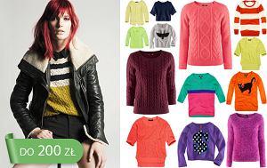sweterek wciągany przez głowę, zima 2012, swetry, jesień 2012