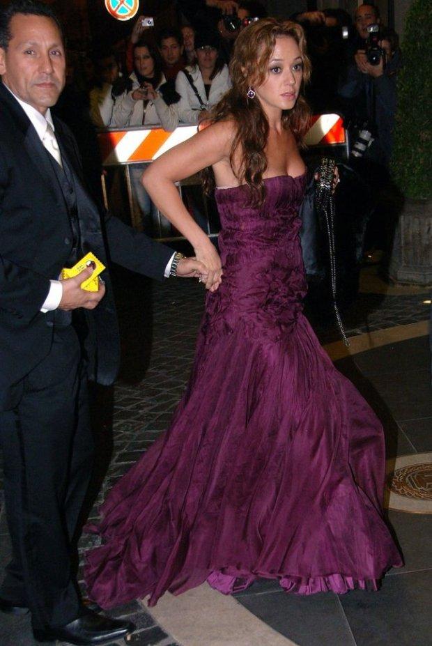 Leah Remini i jej mąż, Angelo Pagan na ślubie Katie Holmes i Toma Cruise'a