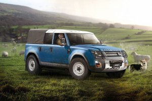 Land Rover Defender 2018 | Pomysły na przyszłość