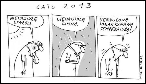 Duszno, parno, chujowo... / źródło: www.wilq.pl