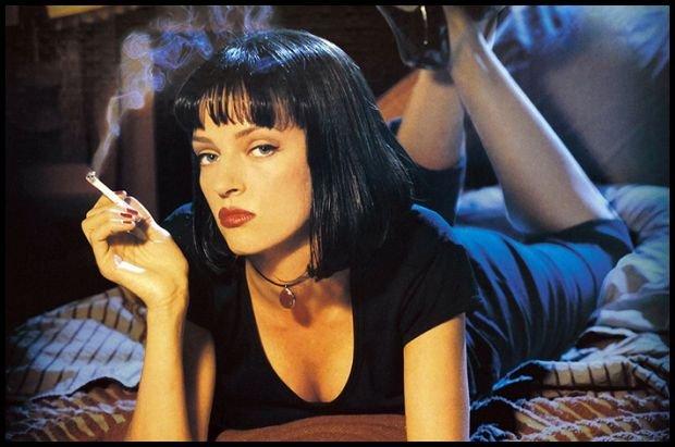 Wyobrażasz ją sobie bez papierosa?