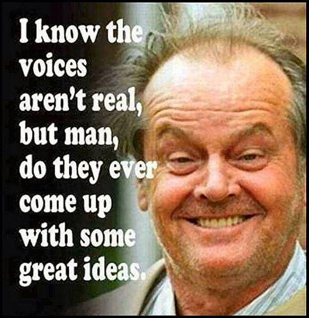 Głosy w mojej głowie.
