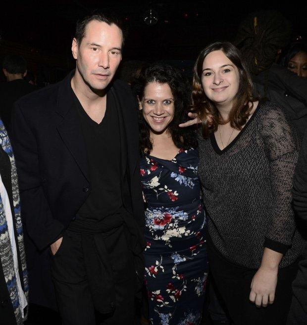 Keanu Reeves, Jennifer DeLia i Julie Pacino