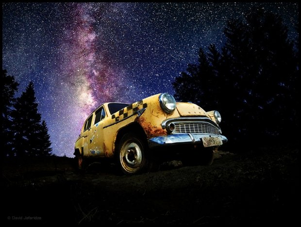 Taxi - fot. David Jafaridze