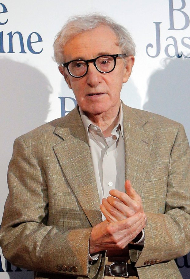 FILE - This Aug. 27, 2013 file photo shows director and actor Woody Allen at the French premiere of