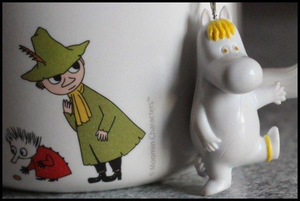 Kubek z Włóczykijem i zaparzacz Panna Migotka (Fot. Ania Oka)
