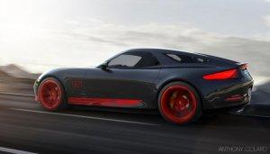 Porsche 921 | Wizja powrotu następcy 928