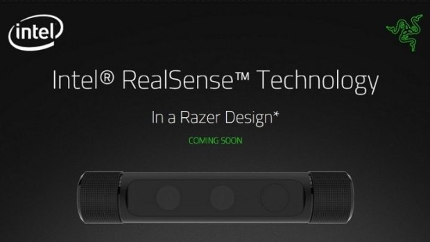Kamerka Razer wykorzystująca Real Sense Intela