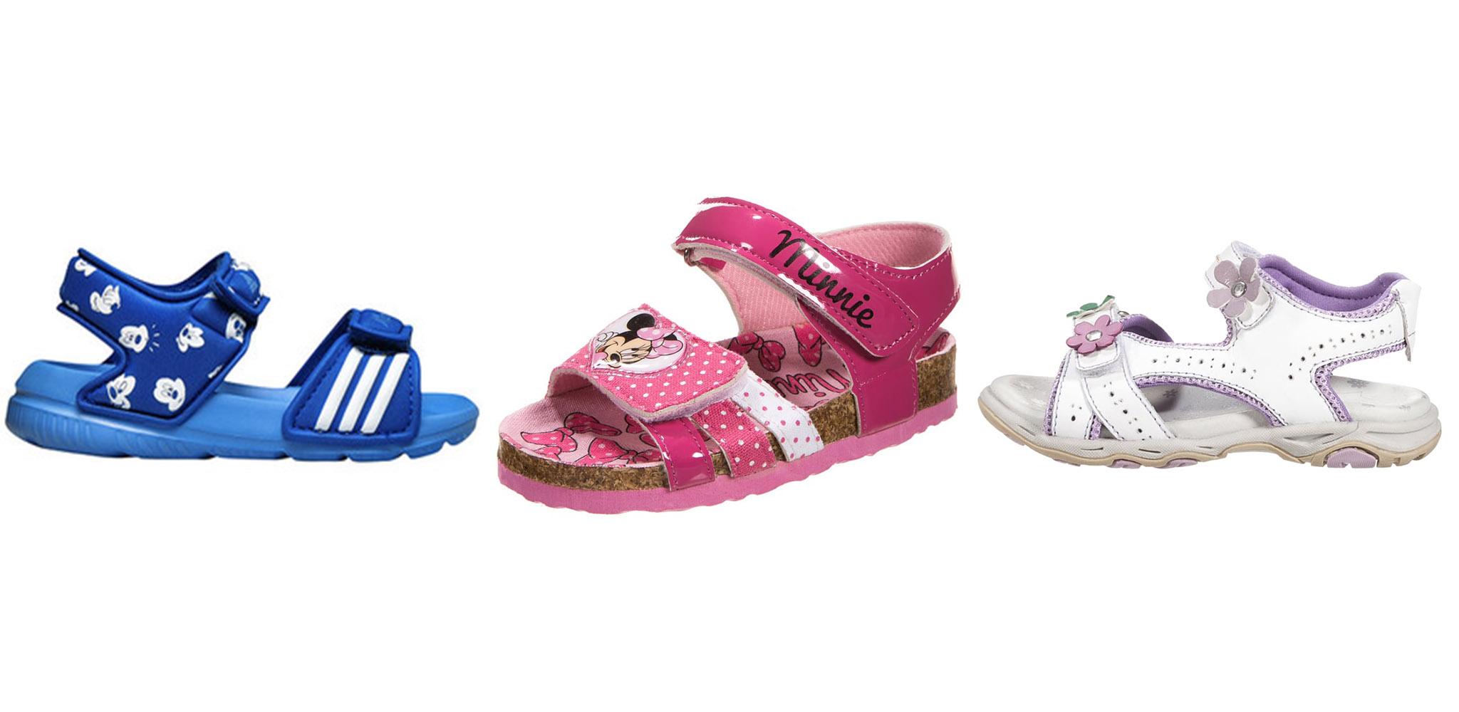 Sandały dla maluchów w okazyjnych cenach