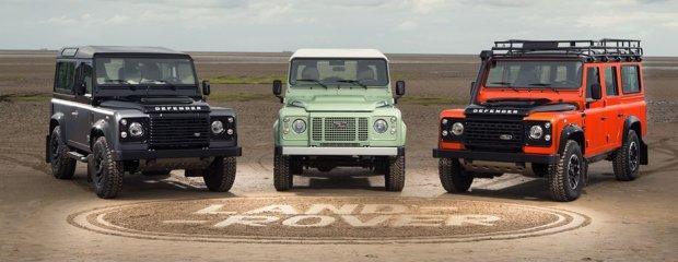 Pożegnanie legendy | Ostatni Land Rover Defender wyjechał z fabryki