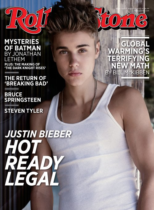 justin bieber, rolling stone