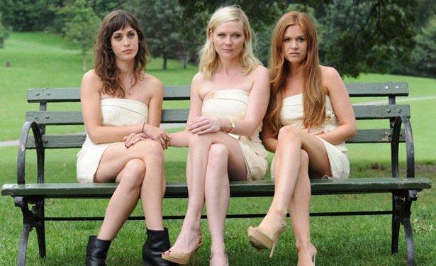 Lizzy Caplan, Kirsten Dunst i Isla Fisher w filmie