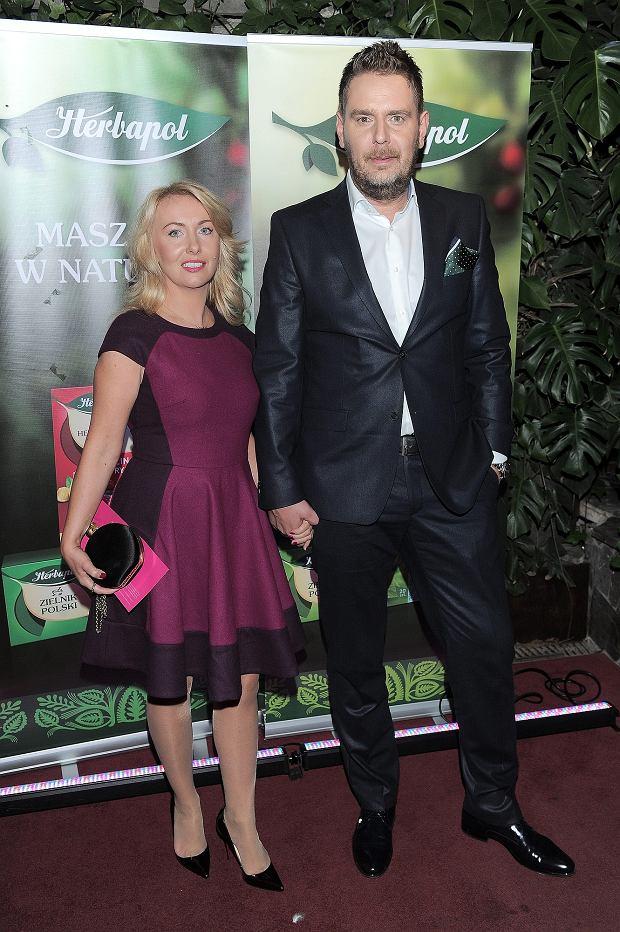 Wojciech Modest Amaro, żona Agnieszka