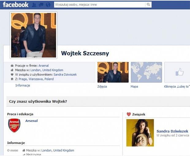 FB Wojciecha Szczęsnego