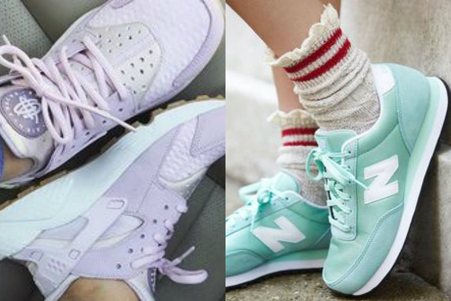 Sneakersy na lato