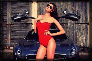 Olga i Mercedes SLS AMG