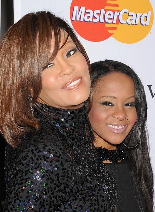 Bobbi Kristina Brown, Whitney Houston